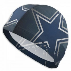 Durable Dallas Cowboys swim cap #733561 Women Men Adults , Easy to Put On and Off