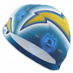 Durable Los Angeles Chargers swim cap #732020 High Elasticity Swimming Cap,easier in off