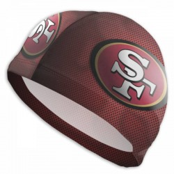 Good Quality NFL San Francisco 49ers swim cap #735787 breathable and quick-drying