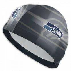Good Quality NFL Seattle Seahawks swim cap #736090 breathable and quick-drying